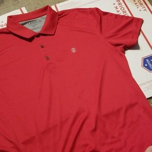 NWOT Izod Red Golf Polo